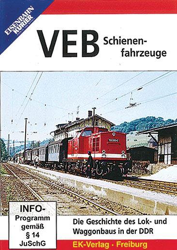 VEB Schienenfahrzeuge DVD (8613)