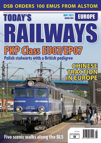 Today's Railways Europe 303: May 2021