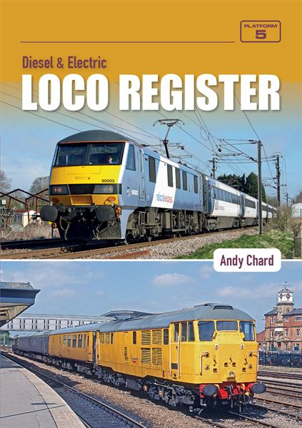 Diesel & Electric Loco Register - Back Issues